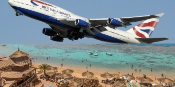 BA turn their back on Sharm El-Sheikh