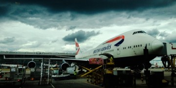 BA flight to nowhere and back again