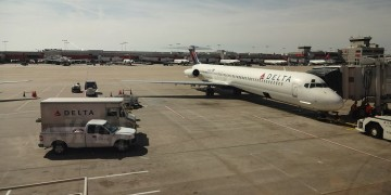 Power cut paralyses Delta Airlines