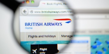 British Airways suffers technical glitch