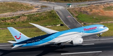 Thomson flight diverted after pilot faints