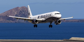 Monarch Airlines' bankruptcy leaves 110.00 passengers stranded