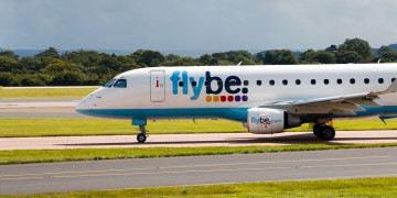 Flybe has gone up for sale after a full year of red numbers