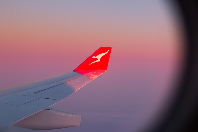 Qantas Airways long-haul flight