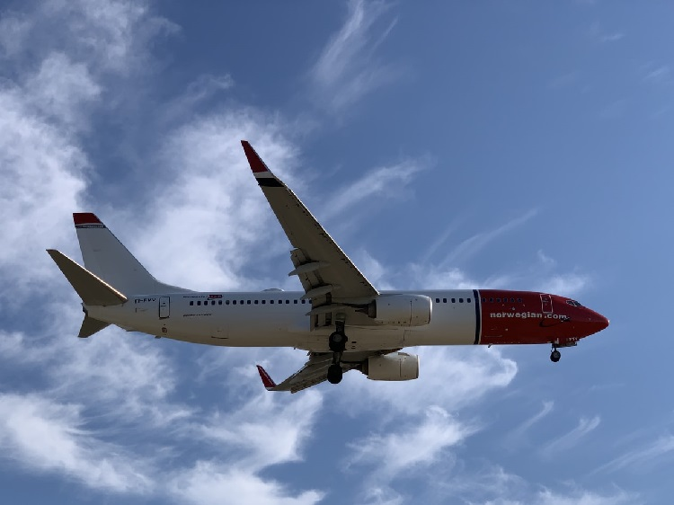 norwegian air avion compagnie aérienne low cost