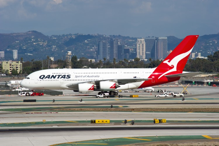 Qantas Airways Flug