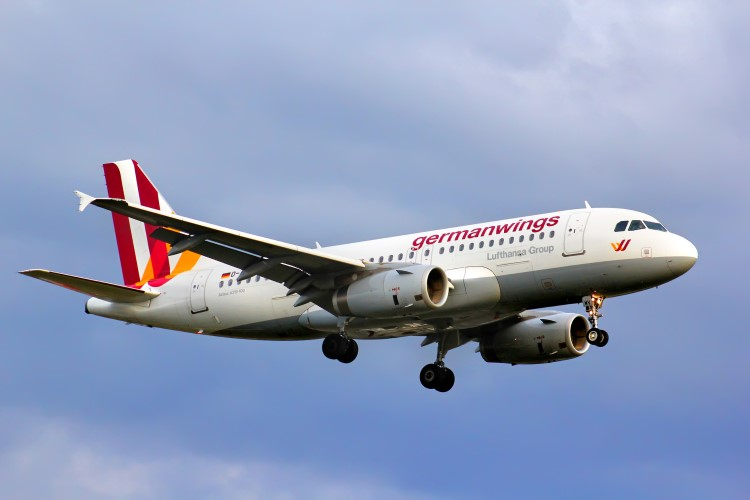 le personnel de la compagnie germanwings eurowings en grève