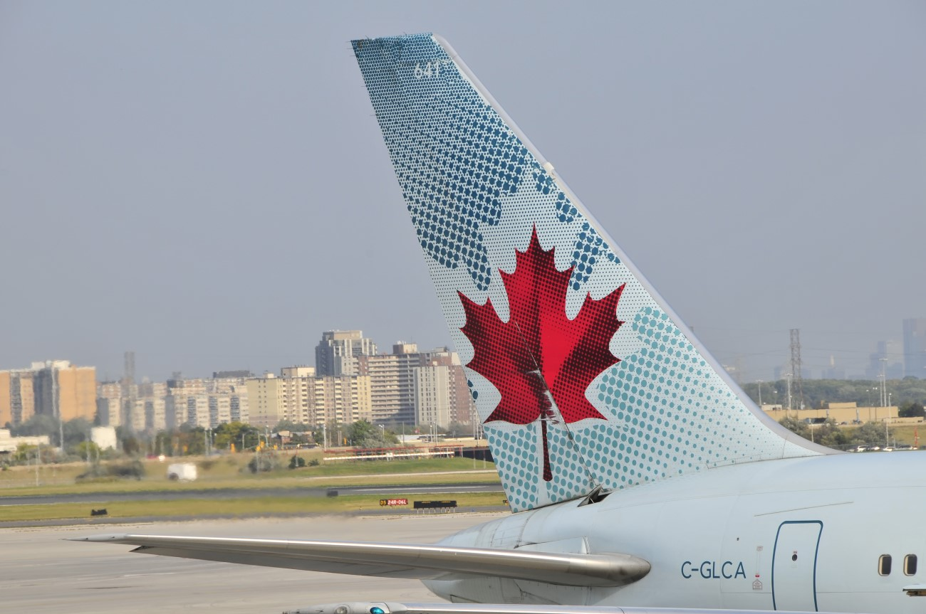 Claim compensation from Air Canada