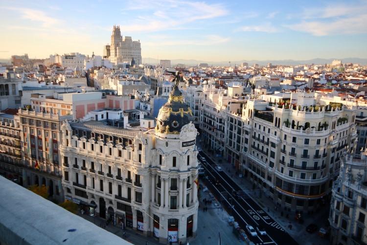 Madrid el centro está muy cerca del aeropuerto