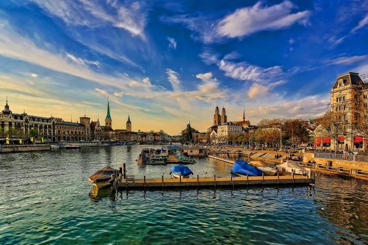 Paisaje en Zurich