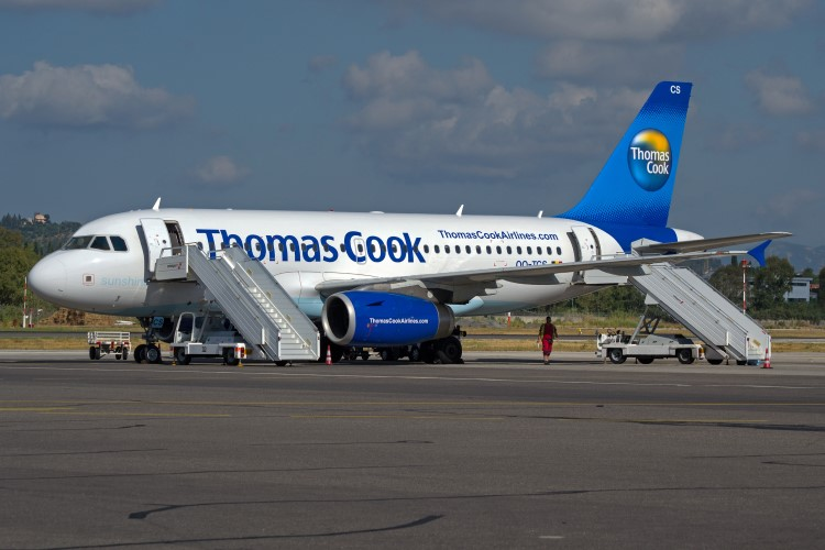 Thomas Cook was one of the most delayed airlines in Europe