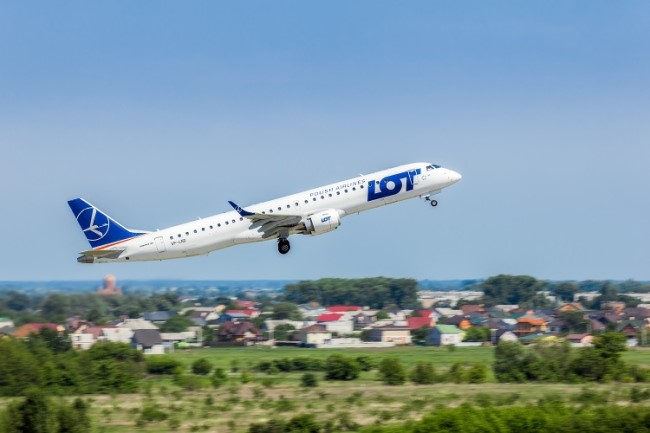 LOT Polish Airlines flight delayed or cancelled
