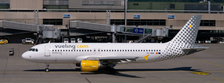 Vueling offers no financial refund for tickets